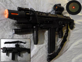 NERF Stampede SOPMOD Assault Rifle by MarcWF