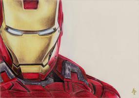 Iron Man by Alizee-P