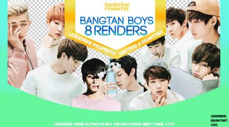 BTS PNG Pack #1 by leaderbae