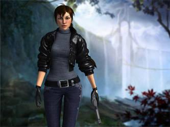 Lara Croft- Ready for something new by Zaza-Boom