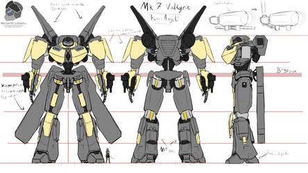 Mk 7 Valkyrie Concept 'Ferri-Angeli' by Lazarus-Firenze