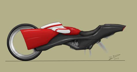 Future Bike Side Profile by Lazarus-Firenze
