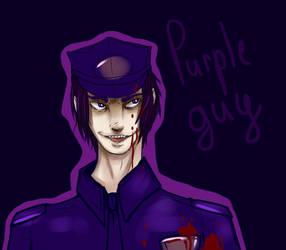 Purple Guy - Five Nights at Freddy by Pangashka
