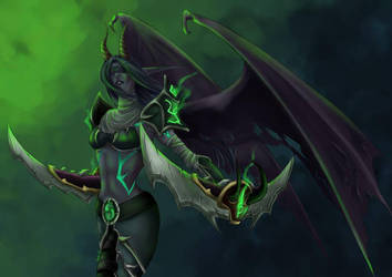 WoW :: Demon Hunter by Nuxcia