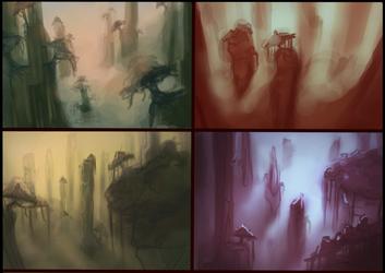 Landscape concepts! by kedostini