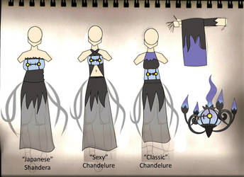 VOTE: Chandelure Costume by Bahamut285