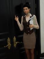Knock Knock by MBirdCZ