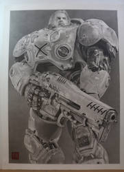 StarCraft 2 Jim Raynor by yipzhang5201314