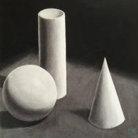 Cylinder Sphere Cone (practice) by yipzhang5201314