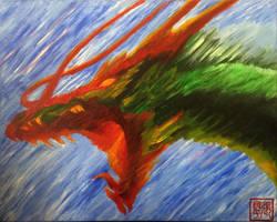 Fierce Dragon by yipzhang5201314