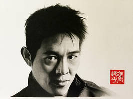 Jet Li Portrait by yipzhang5201314