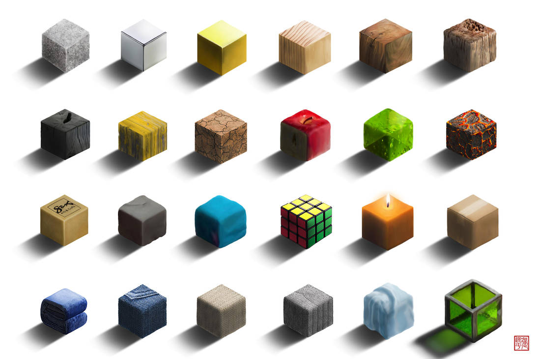 Cubes by yipzhang5201314