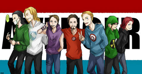 The Avengers by resave