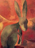 Jack Rabbit Under The Midnight Sun by eddiebadapples
