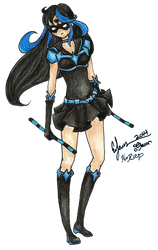 Sailor Nightwing by BunniiChan