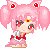 Sailor Chibi Moon Pixel by BunniiChan