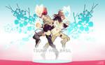 Tsuna and Basil by malionette