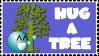 Hug a Tree Stamp v2 by HippieKender