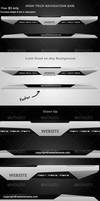 High-Tech Navigation Bar by IntaglioGraphics
