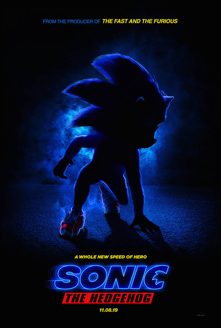 Sonic-movie-poster-high-res by LordGojira