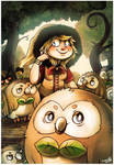 Owls, owls and even more owls... :'D by Lumary92