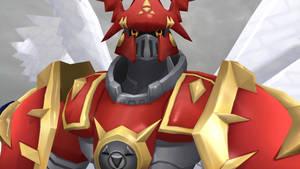 Gallantmon Crimson mode (Digimon LinkZ) by GuilTronPrime