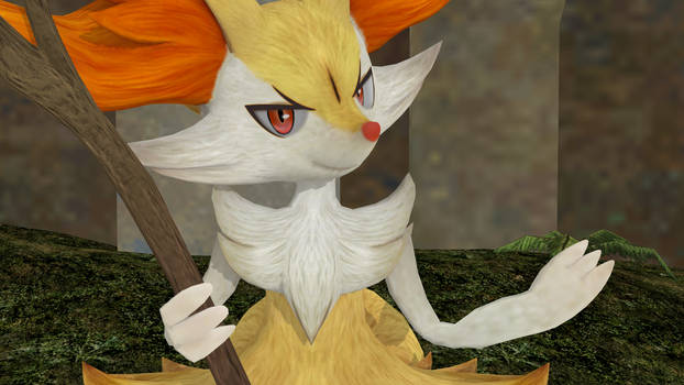 Braixen (Pokken Tournament DX)Version 2 by GuilTronPrime