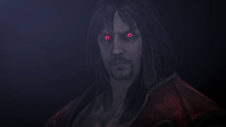 Gabriel Belmont (Dracula) --Lords of Shadow 2-- by GuilTronPrime
