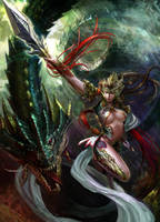 Dragon Queen by XiaoBotong