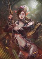 Night Magic Hunter by XiaoBotong
