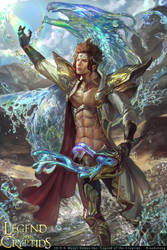 River Summoner Edelini by XiaoBotong