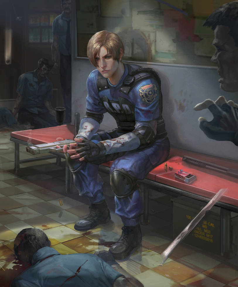 Resident Evil 2 Leon by XiaoBotong