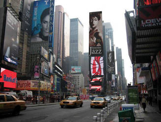 Time Square Banners by bwbusyb