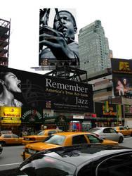 Billboards in Manhattan by bwbusyb