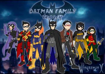 Batman Family Legacy - Batifamilia by WingzemonX