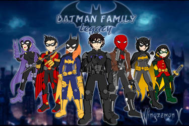 Batman Family Legacy - Batifamilia (Alternativa) by WingzemonX