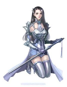 Female Knight by eliz7