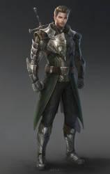 Dragon Knight by eliz7
