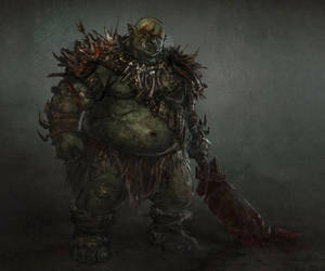 Orc butcher by eliz7