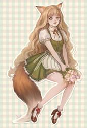 Fox girl by eliz7
