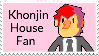 Khonjin House Stamp by Green-Puppy