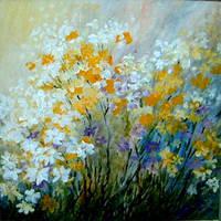 mixed flowers by Hydrangeas