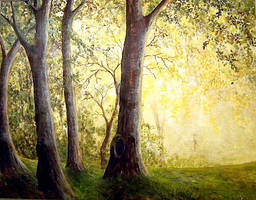 YELLOW FOREST by Hydrangeas