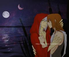 Caramon and Raistlin -Colour- by Aidiki-chan
