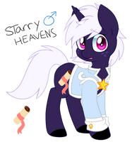 New oc: Starry Heaven by Twily-Star