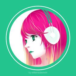 Green Girl by williamsdavinchi