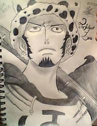 Trafalgar Law From One Piece by 1mew635