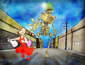 M is for Mechanical Menace by JesseHorn