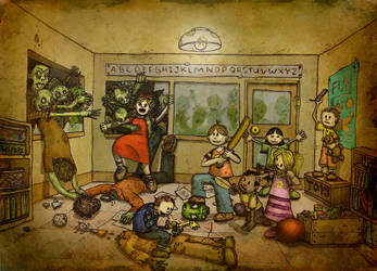 Daycare of the Dead by JesseHorn