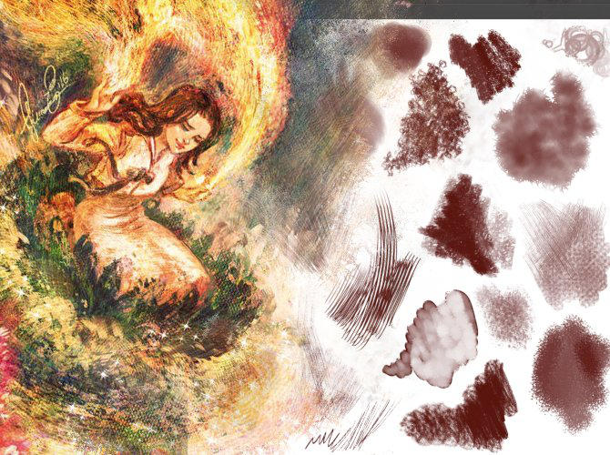 Ico-dY's 'Expansion' Brush Pack for Krita 4.x by Ico-dY